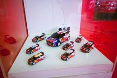 Bieżny samochód Sebastien Loeb Obrazy Royalty Free