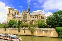 Paryż jest kapitałowym i wielkim miastem Francja Obraz Royalty Free
