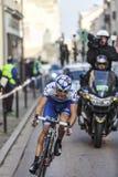 Paryż kolarstwa rasy Ładna akcja Fotografia Royalty Free