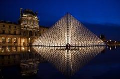 Paryż, louvre zdjęcie stock