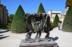 Paryż - Muzealny Rodin zdjęcia royalty free