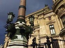 Paryż, region grands boulevards zdjęcia stock