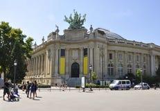 Paryż, Sierpień 20,2013-Grand Palais des Beaux sztuki w Paryż Zdjęcie Stock