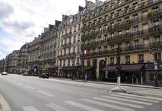 Paryż, Sierpniowa 17,2013-Buildings architektura w Paryż zdjęcie royalty free