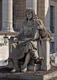 Paryż - statua palais bourbon obraz stock