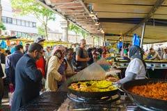Paryż uliczny rynek Zdjęcie Stock