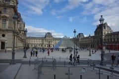 Paryż - uroki miasto luwr Paryża Zdjęcie Stock