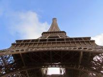 Paryż, wieża eifla, podłogowy widok zdjęcia stock