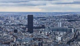 Paryż - wycieczka turysyczna Montparnasse zdjęcia royalty free