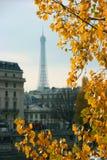 Paryża jesienią Zdjęcie Royalty Free