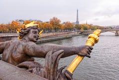 Paryża jesienią Obrazy Royalty Free