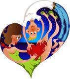 pary atrakcyjna miłość Zdjęcie Stock