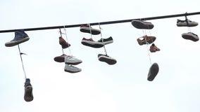 Pary buta zrozumienie podrzucali telefonicznego drut, sneakers linie energetyczne zbiory