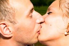pary całowania potomstwa fotografia royalty free