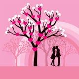 pary całowanie Zdjęcia Stock