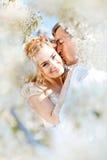 pary całowanie Fotografia Stock