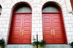 Pary drzwi Obraz Stock