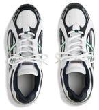 pary działających butów trenerów działający whit Obrazy Royalty Free