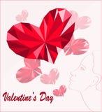 pary dzień ilustracyjny kochający valentine wektor Zdjęcie Royalty Free