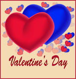 pary dzień ilustracyjny kochający valentine wektor Zdjęcie Stock