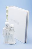 pary figurki ślub Obraz Royalty Free