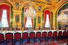 PARYŻ FRANCJA, LIPIEC, - 03, 2016: Mieszkania Napoleon III Los Angeles Zdjęcia Royalty Free