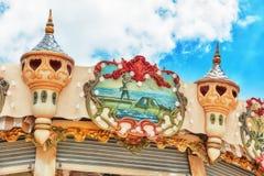 PARYŻ, FRANCJA LIPIEC 02, 2016: Rozrywki Carousel dla yo Obraz Stock