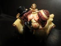 pary ilustracyjny nowożeńcy target1750_1_ Zdjęcie Stock