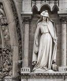 Paryż katedra Notre Damae Zdjęcie Royalty Free