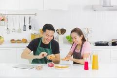 pary kuchni potomstwa zdjęcia royalty free