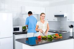 pary kuchnia Zdjęcie Stock