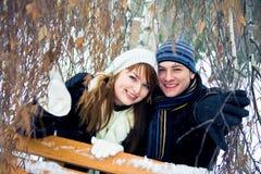 pary miłość Zdjęcia Royalty Free
