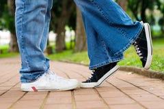 pary miłość Zdjęcie Royalty Free