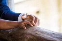 Pary mienia ręki wpólnie Obraz Royalty Free