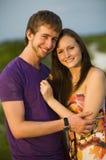 pary nastoletni szczęśliwy zdjęcia stock
