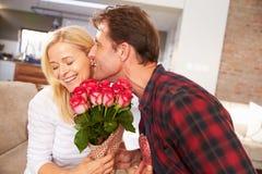Pary odświętności valentines dzień Zdjęcie Royalty Free