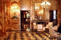 PARYŻ: Pałac hotel Crillon Obraz Royalty Free