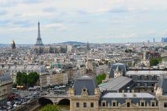 Paryż panoramiczny widok Obraz Stock