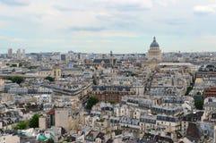 Paryż panoramiczny widok Zdjęcia Stock