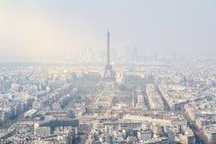 Paryż, panoramiczny widok Obraz Royalty Free