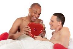 pary pochodzenia etnicznego homoseksualista mieszający Zdjęcie Stock