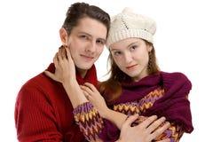 pary przytulenie Fotografia Royalty Free
