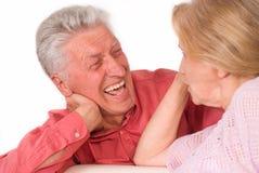 pary stary szczęśliwy Zdjęcia Stock