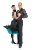 pary tancerzy Latina styl Fotografia Royalty Free