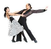 pary tancerzy Latina styl Zdjęcia Stock
