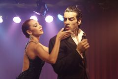 pary tango Obrazy Royalty Free