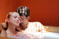 pary target1840_0_ miesiąc miodowy pakunek Zdjęcie Royalty Free