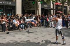 Paryż Ulicy Fotografia Stock