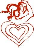 pary valentine Obrazy Royalty Free
