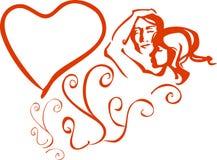 pary valentine Zdjęcia Stock